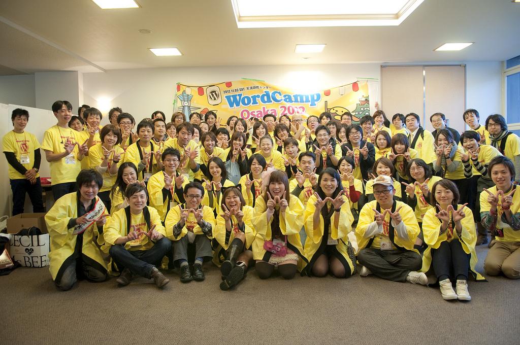 WordCampOsaka2012 スタッフ